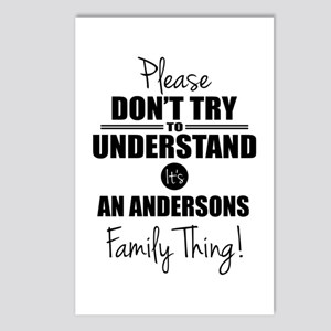 Custom Family Thing Postcards (Package of 8)