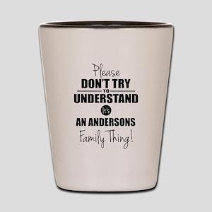 Custom Family Thing Shot Glass