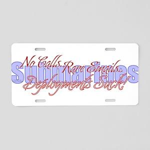 Submarines_01 Aluminum License Plate