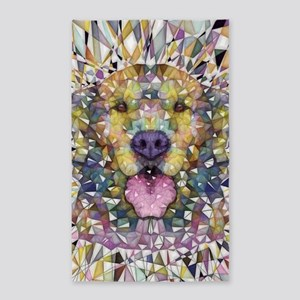Rainbow Dog Area Rug