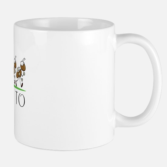Happy Birthday Amanda (ants) Mug