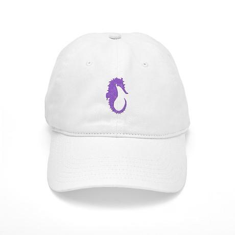 Purple Seahorse Cap