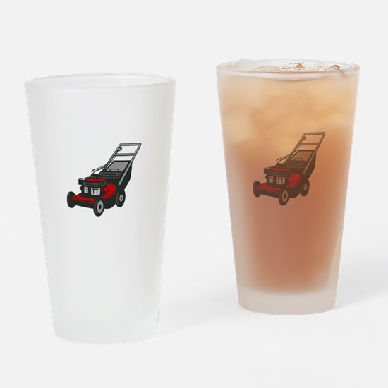 LAWNMOWER Drinking Glass