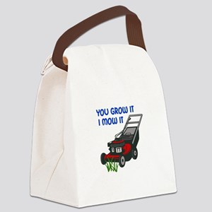 I MOW IT Canvas Lunch Bag