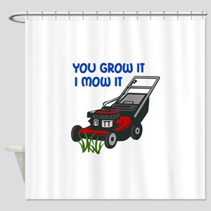 I MOW IT Shower Curtain
