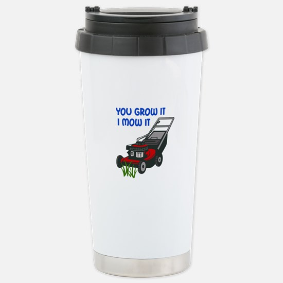 I MOW IT Travel Mug