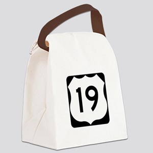 US Route 19 Canvas Lunch Bag