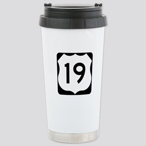 US Route 19 Stainless Steel Travel Mug