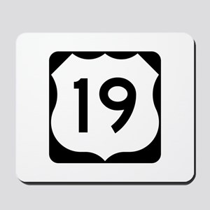 US Route 19 Mousepad