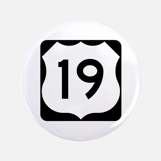 "US Route 19 3.5"" Button"