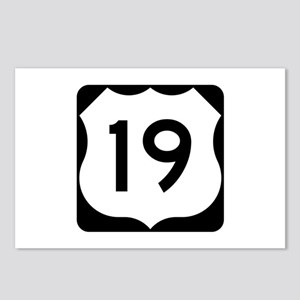 US Route 19 Postcards (Package of 8)