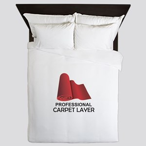 PROFESSIONAL CARPET LAYER Queen Duvet
