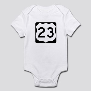 US Route 23 Infant Bodysuit
