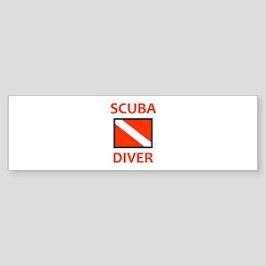 SCUBA DIVER Bumper Sticker