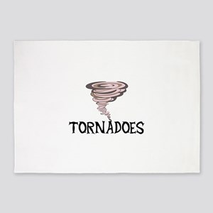TORNADOES 5'x7'Area Rug