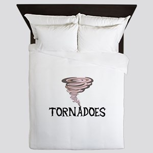 TORNADOES Queen Duvet