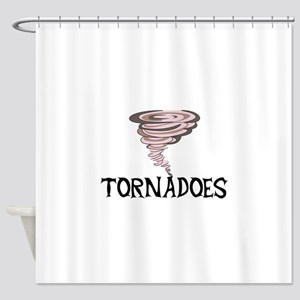 TORNADOES Shower Curtain