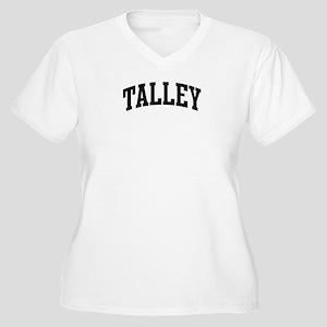 TALLEY (curve-black) Women's Plus Size V-Neck T-Sh