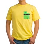 Yellow T-Shirt for a True Blue Utah LIBERAL
