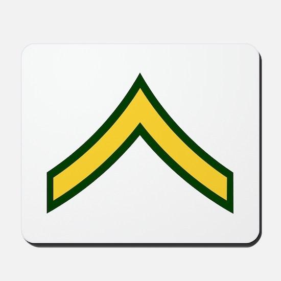 """Army E2 """"Class A's"""" Mousepad"""