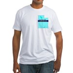 True Blue Utah LIBERAL Fitted T-Shirt