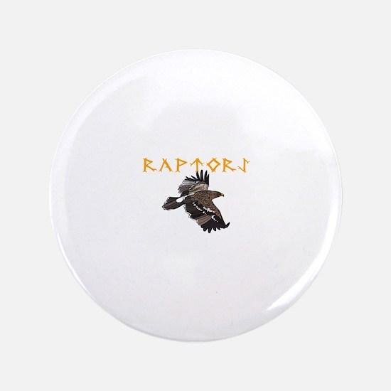 "RAPTORS MASCOT 3.5"" Button"