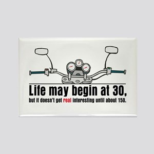 Motorcycle Life Rectangle Magnet