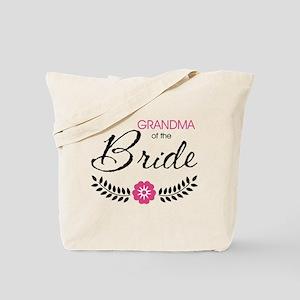 Cute Stylish Grandma of the Bride Tote Bag