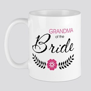 Cute Stylish Grandma of the Bride Mug