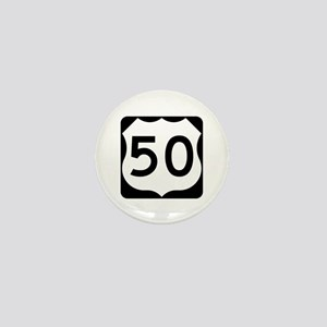 US Route 50 Mini Button