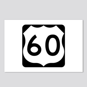 US Route 60 Postcards (Package of 8)