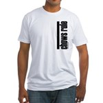 Chows Rule Chow Chow Fitted T-Shirt