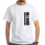 Chows Rule Chow Chow White T-Shirt
