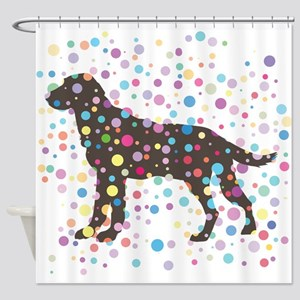 Labrador Retriever Shower Curtain