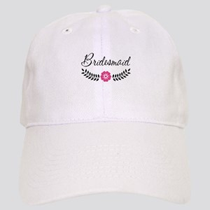 Cute Pink Flower Bridesmaid Cap