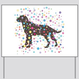 Labrador Retriever Yard Sign