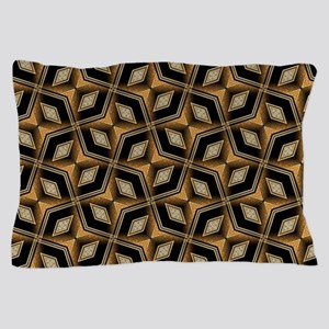 Earth Man Geometric Diamonds Pillow Case