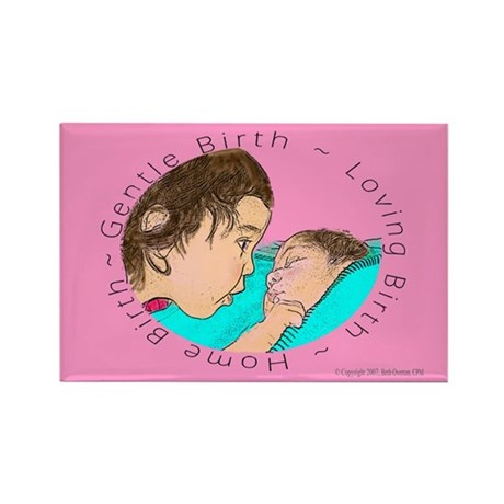 Gentle Birth Rectangle Magnet (100 pack)