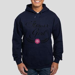 Pink Wedding Flowergirl Hoodie (dark)