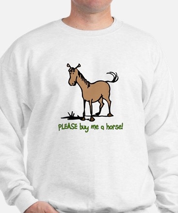 Buy me a horse saying Jumper