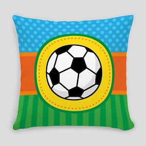 Soccer Ball Kids Sports Everyday Pillow