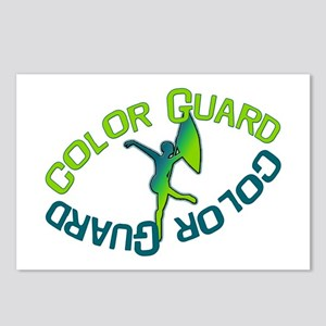 Color Guard  Postcards (Package of 8)
