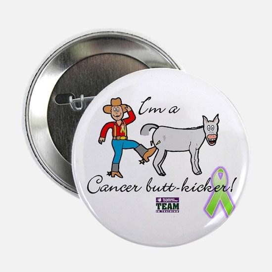 cancer butt kicker Button