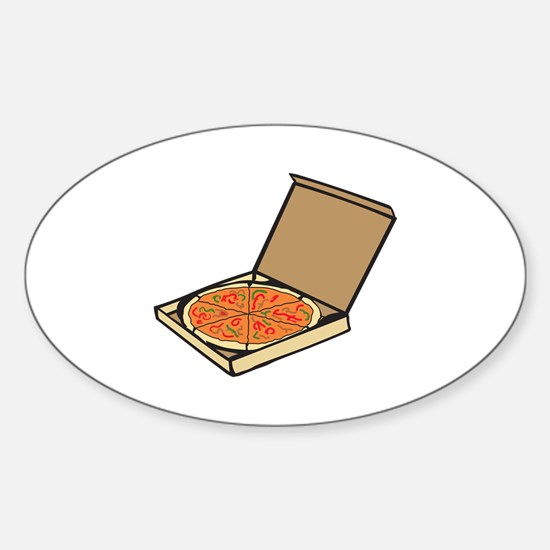 PIZZA BOX Decal