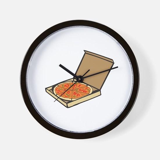 PIZZA BOX Wall Clock