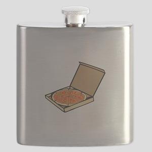 PIZZA BOX Flask