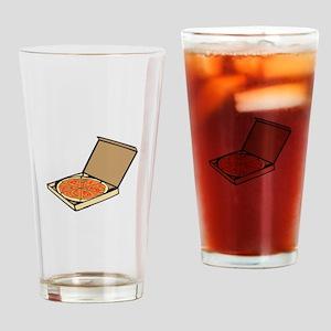 PIZZA BOX Drinking Glass