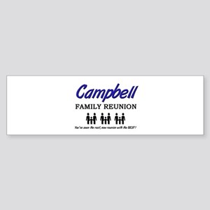 Campbell Family Reunion Bumper Sticker