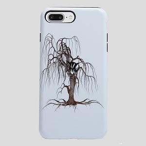 Cat Face In Tree iPhone 7 Plus Tough Case
