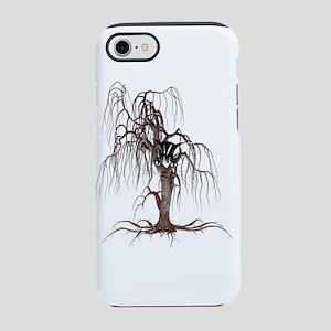 Cat Face In Tree iPhone 7 Tough Case